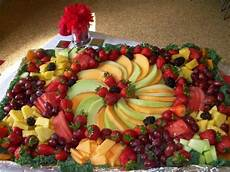 decorative foiled cookie sheet fruit platter all to