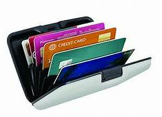 RFID CREDIT CARD HOLDER PROTECTOR WALLET CONTACTLESS DEBIT