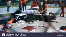 Ayrton Senna Unfall - ayrton senna car after 1 may 1994
