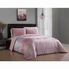 bradshaw 3 piece blush queen velvet ombre comforter brw3csquenghbh the home depot