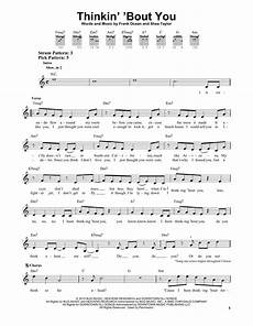 thinkin bout you sheet music by frank ocean easy guitar 156375