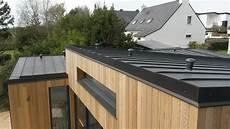 toit plat en zinc couverture r 233 novation de toitures zinc 56 et 44 cei 56