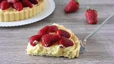 crostata con crema pasticcera e fragole crostata con crema pasticcera ricotta e fragole youtube