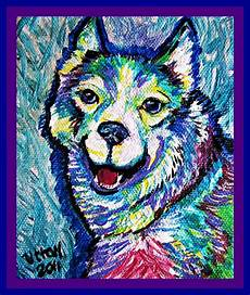 keep smiling painting by pam utton