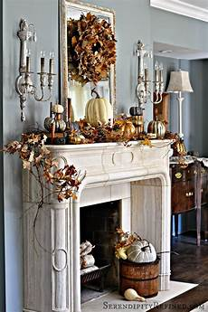 Fireplace Mantel Decorations by Fireplace Mantel Decor Ideas For Decorating For Thanksgiving