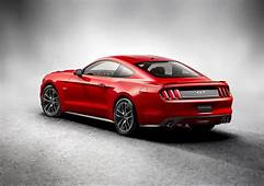 2015 Ford Mustang GT  Rear Photo Race Red Color Size