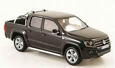 volkswagen amarok black 2010 minichs diecast model car