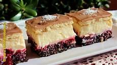 crema fiarta jamila prajitura cu mac visine si crema de vanilie farfuria vesela youtube