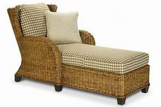 cl clarissa indoor rattan chaise lounge chair