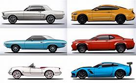 The History And Evolution Of Mustang Challenger