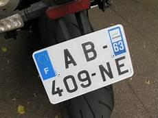 nouvelle taille de plaque d immatriculation pour les motos plaques d immatriculation une taille pour tout le monde