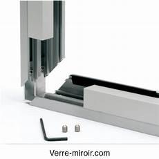 profil f317 pour chassis fixe et s 233 paration en verre