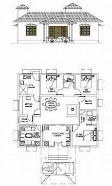 free kerala house plan for spacious 3 bedroom 3 bedroom typical kerala home design including prayer room
