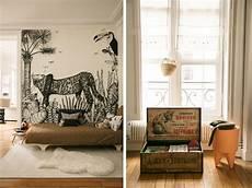 une chambre enfant esprit jungle