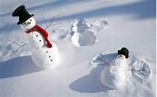nature winter snow shadow snowman top hat humor