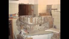 Bau Eines Kachelofen