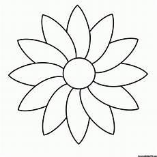 Ausmalbilder Zu Blumen Blumen Malvorlage 1ausmalbilder Malvorlagen Blumen