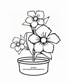 Koleksi Gambar Sketsa Kolase Bunga Aliransket