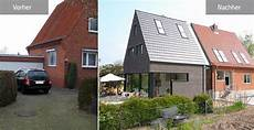 Siedlungshaus Vorher Nachher - umbauen renovieren verdoppelung eines siedlungshauses