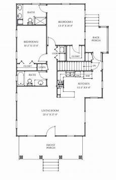 2br house plans 2br 2ba