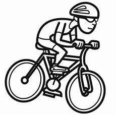 Malvorlage Zum Ausdrucken Fahrrad Ausmalbild Sport Radfahrer Kostenlos Ausdrucken
