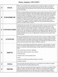 poetry analysis worksheet doc 25511 poetry analysis worksheet tp castt printable pdf templateroller