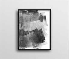 Black And White Abstract Wall