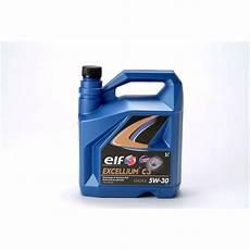 huile moteur excellium c3 5w30 5l feu vert