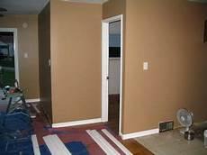 behr almond toast home renovation tall cabinet storage