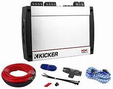 400 watt lifier kit kicker 40kx4004 kx400 4 kx 400 watt rms 4 channel car class d amplifier amp kit audio savings