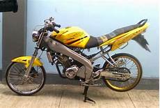 Modifikasi Warna Motor Vixion by Modifikasi Motor Yamaha Vixion Velg Jari Jari Koleksi