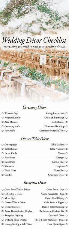 10 printable wedding checklists for the organized sheknows