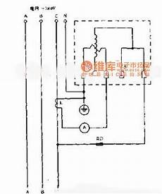 the wiring circuit diagram with single phase watt hour meter measuring electric power other