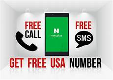 free text sms to mobile from free calls free sms get usa mobile number with next plus