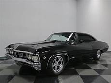 Black Cherry 1967 Chevrolet Impala Ss For Sale Mcg