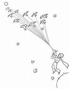 migrating animals coloring pages 17086 prince leave his planet with migrating birds coloring page from prince category