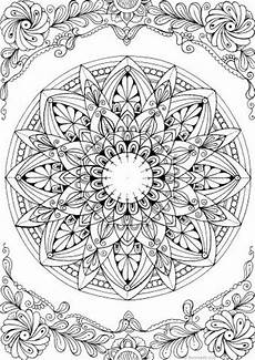 free printable mandala coloring pages for adults 17999 mandala printable coloring page from favoreads coloring book pages for adults and