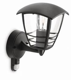 philips mygarden creek outdoor wall light requires 1 60 watts e27 bulb house and garden store