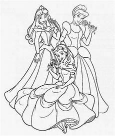 Gratis Ausmalbilder Zum Ausdrucken Prinzessin Prinzessin Malvorlagen