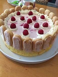 quark sahne torte mit himbeeren rezept mit bild