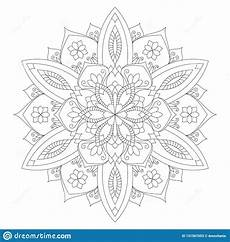 mandala coloring pages 17917 mandala coloring page flower design element for color book stock vector illustration of