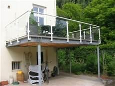 stahlkonstruktion terrasse kosten balkone und terrassen traumschlosser