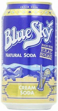 Amazon Com Bluesky 12 Pairs Blue Sky Cream Soda 12 Ounce Cans Pack Of 24 Http
