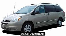 auto repair manual free download 2004 toyota sienna spare parts catalogs toyota sienna 2004 2005 service repair manual download instant manual download