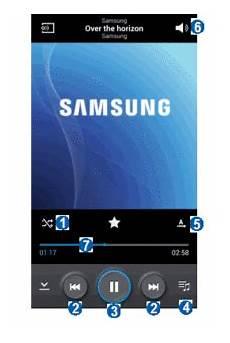 Samsung Galaxy S4 Advance Utiliser Le Lecteur Audio