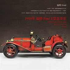 Ford Oldtimer Modelle - best collection retro iron metal craft 1910 ford t type