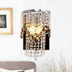 new luxury crystal stainless steel switch wall lights bedroom hallway wall ls ebay