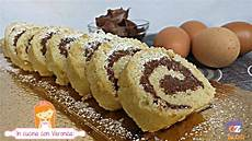 rotolo alla crema bimby rotolo alla nutella bimby morbido e goloso idee alimentari dolci con nutella e nutella