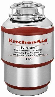 Kitchen Garbage Disposals Reviews by Kitchenaid Kcds100t 1 Hp Food Waste Disposer Review 2019