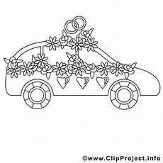 Malvorlagen Hochzeit Auto Hochzeit Auto Bild Zum Ausmalen
